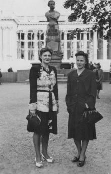 На Приморском бульваре, 1947 г.