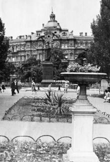 Одесса. В парке на площади Советской Армии. 1950-е гг.