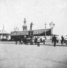 На Николаевском (Приморском) бульваре, июнь, 1912 г.