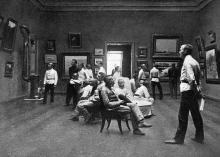 В музее изящных искусств, июнь, 1912 г.