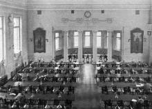 В городской публичной библиотеке, июня, 1912 г.