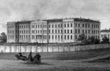 Институт благородных девиц, гравюра, 1890 г.