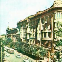 Улица Дерибасовская, начало 1970-х годов