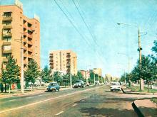 Ул. Новоселов, начало 1970-х годов