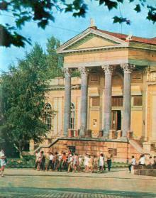 Археологический музей, начало 1970-х годов