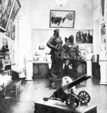 В зале историко-краеведческого музея