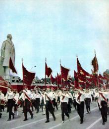 Одесса, площадь им. Октябрьской революции, 1 мая 1968 г.