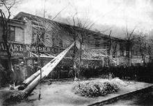 Гололедица в Одессе