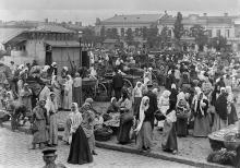 Одесса, Новый рынок, 1894 г.
