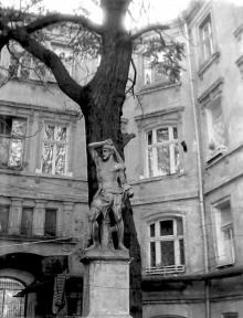 Одесса, двор дома №3 по ул. Торговой, фотограф В.Г. Никитенко, 1970-е годы