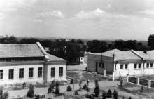 Одесса, виварий и мастерские на территории Украинского экспериментального института глазных болезней, конец 1930-х годов