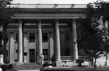 Амбулаторный корпус института им. В.П. Филатова на Пролетарском бульваре, конец 1950-х годов