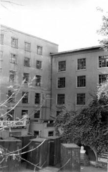 Одесса, ул. Чичерина (Успенская), на территории обувной фабрики, 1980-е годы