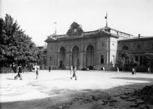 Привокзальный сквер (1941 — 1944)