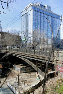 Одесса, мост Коцебу, фотограф Вячеслав Теняков, 27 февраля 2015 г.