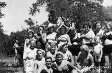 Одесса, в Лузановке, 1958 г.