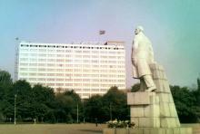 Одесса, площадь им. Октябрьской революции, фотограф Volker Tommack, начало 1970-х годов