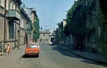 Одесса, Краснофлотский переулок, фотограф Игорь Евгеньевич Криницкий, начало 1980-х годов