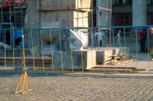 Одесса, Куликово поле, демонтаж памятника В.И. Ленину, фотограф Елена Пенко, 2006 г.