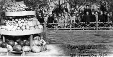 Одесса, на сельхозвыставке в ЦПКиО им. Шевченко, 28 сентября 1954 г.