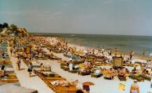 Одесса, пляж в Аркадии, фотограф Кенно Туоминен, 1976 г.