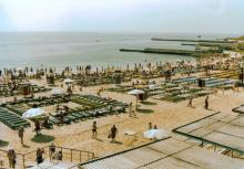 Одесса, пляж на 12-й Фонтана, фотограф Кенно Туоминен, 1976 г.