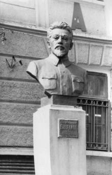 Памятник Я.М. Свердлову на ул. Канатной