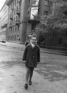 Одесса, на углу ул. Чичерина (Успенской) и ул. Осипова, фотограф Василий Колосов, 1968 г.