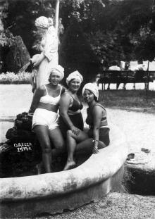 В санатории МГБ, 1937 г.