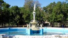 Одесса, фонтан в санатории «Одесса»