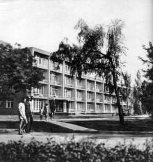 Одесса, санаторий «Россия», корпус №7, 1968 г.