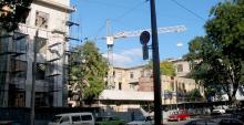 Одесса, ул. Успенская, реконструкция обувной фабрики и здания под отделение банка, 2006 г.