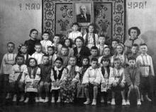 В детском саду на ул. Кирова, 4, 1955 г.