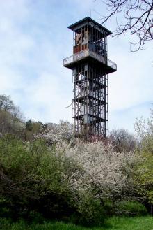 Одесса, башня с лифтом санатория им. Чкалова, апрель, 2008 г.