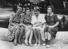 Одесса, в Лермонтовском санатории, 1955 г.