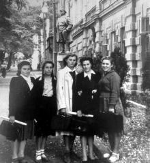 Одесса, на улице Кирова, середина 1950-х годов