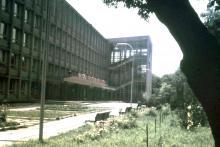 Одесса, политехнический институт, фотограф Volker Tommack, начало 1970-х годов