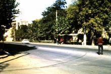 Одесса, проспект Шевченко угол пер. Матросова, фотограф Volker Tommack, начало 1970-х годов