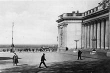 Одесса. Площадь Коммуны. Фотограф М. Гельфгат. Почтовая открытка