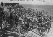 Одесса. Пляж Ланжерона после реконструкции