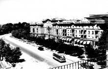 Одесса. Ново-Аркадийская улица в жилом массиве «Южный». Фотограф А. Фатеев. 1959 г.