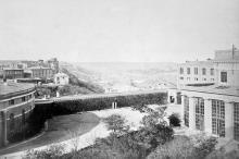 Одесса. Воронцовский дворец. Внутренний двор. 1870 г.