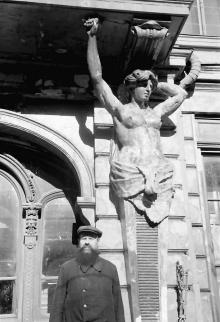 Одесса, гостиница «Бристоль», фотограф Willy Pragher, июнь 1943 г.