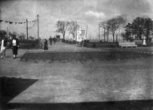 Одесса, вход на Ланжерон из парка Шевченко, 1936 г.