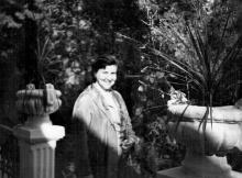 Одесса, в санатории Чкалова, 1961 г.