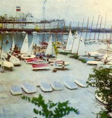Одесса, яхтклуб в Отраде