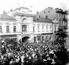 Одесса, ул. Коблевская, театр Палас (цирк), 1917-е годы