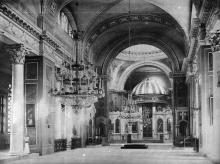 Внутренний вид Кафедрального Собора. Фототипия С.В. Кульженко