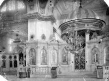 Интерьер собора после реконструкции 1900-1903 г. Главный алтарь