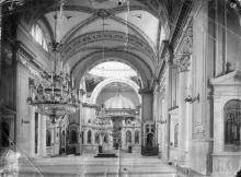 Интерьер собора после реконструкции 1900-1903 г. Центральный неф